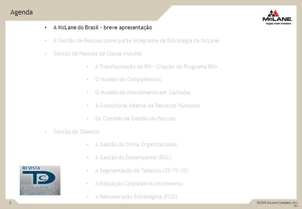 Agenda A McLane do Brasil – breve apresentação