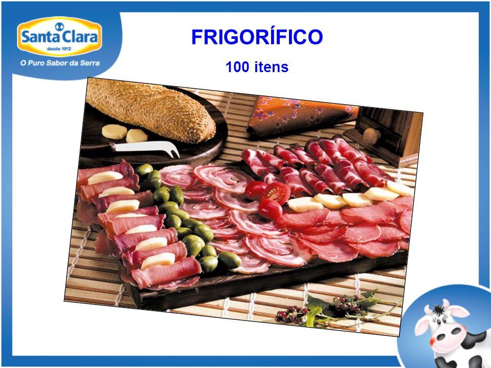 FRIGORÍFICO 100 itens