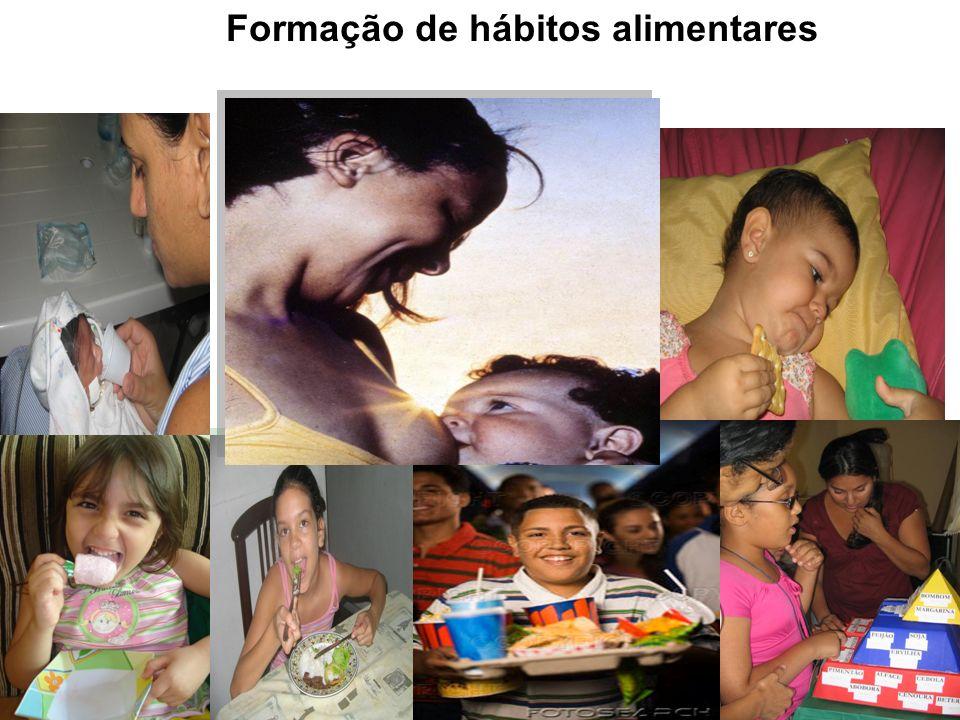Formação de hábitos alimentares