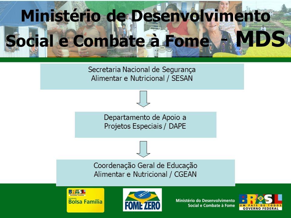 Ministério de Desenvolvimento Social e Combate à Fome - MDS