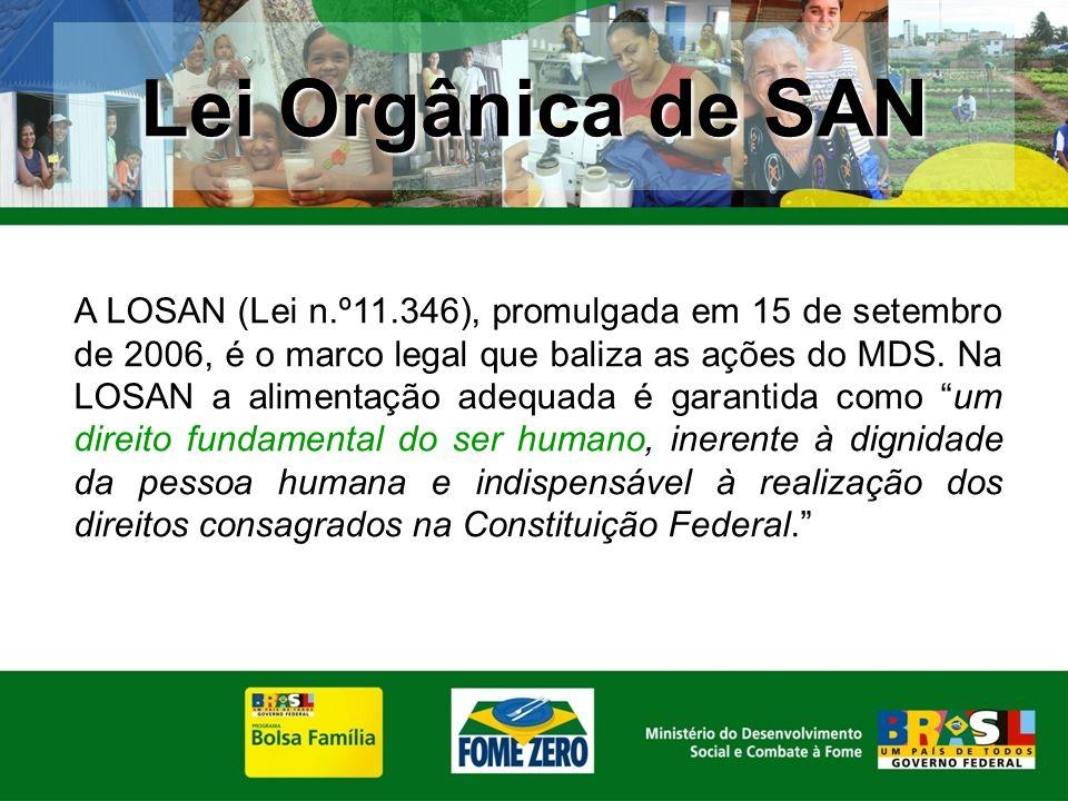 Lei Orgânica de SAN