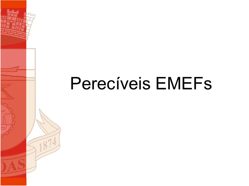 Perecíveis EMEFs
