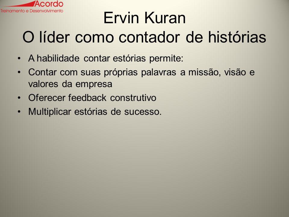 Ervin Kuran O líder como contador de histórias