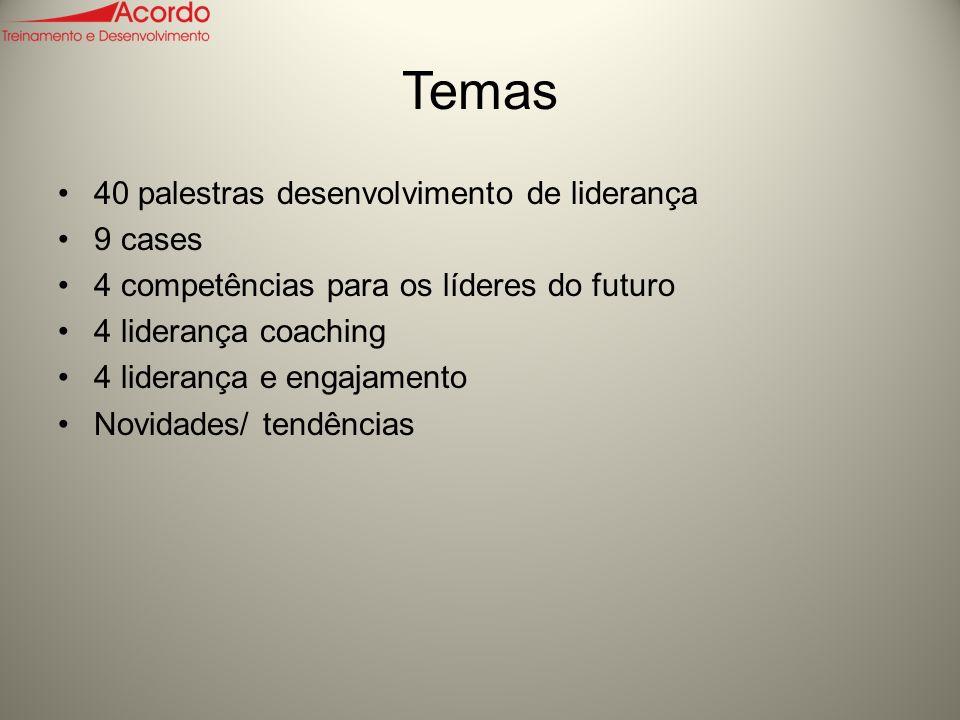 Temas 40 palestras desenvolvimento de liderança 9 cases