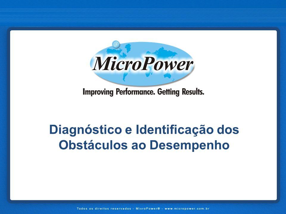 Diagnóstico e Identificação dos Obstáculos ao Desempenho
