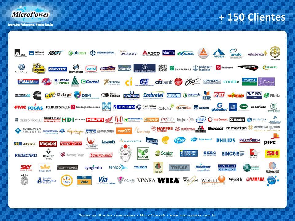 + 150 Clientes Atualizado em 28/09/2011