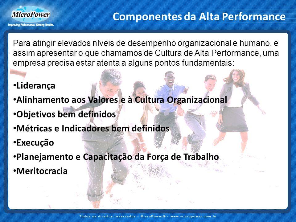 Componentes da Alta Performance