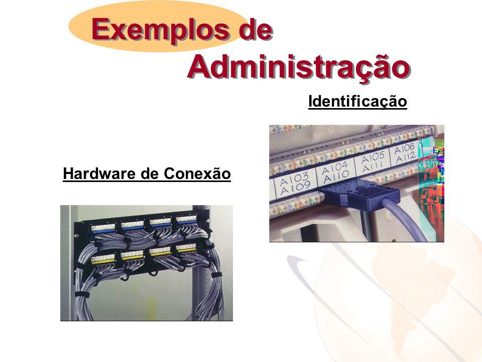 Exemplos de Administração Identificação Hardware de Conexão