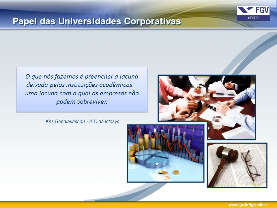 Papel das Universidades Corporativas