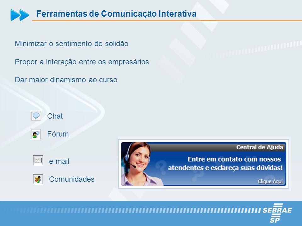 Ferramentas de Comunicação Interativa