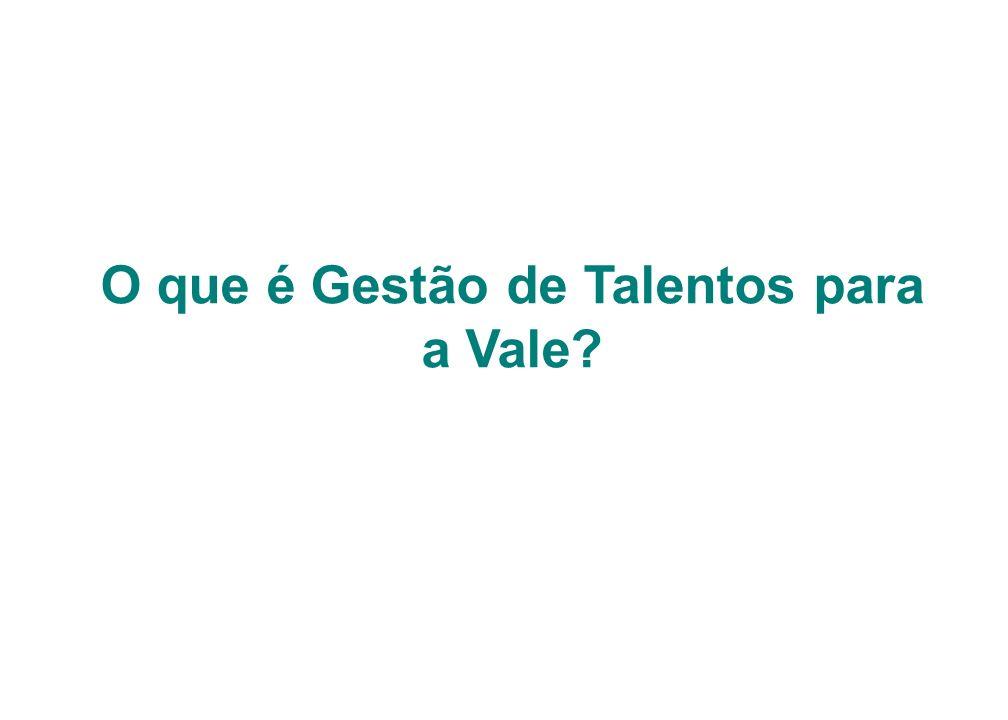 O que é Gestão de Talentos para a Vale