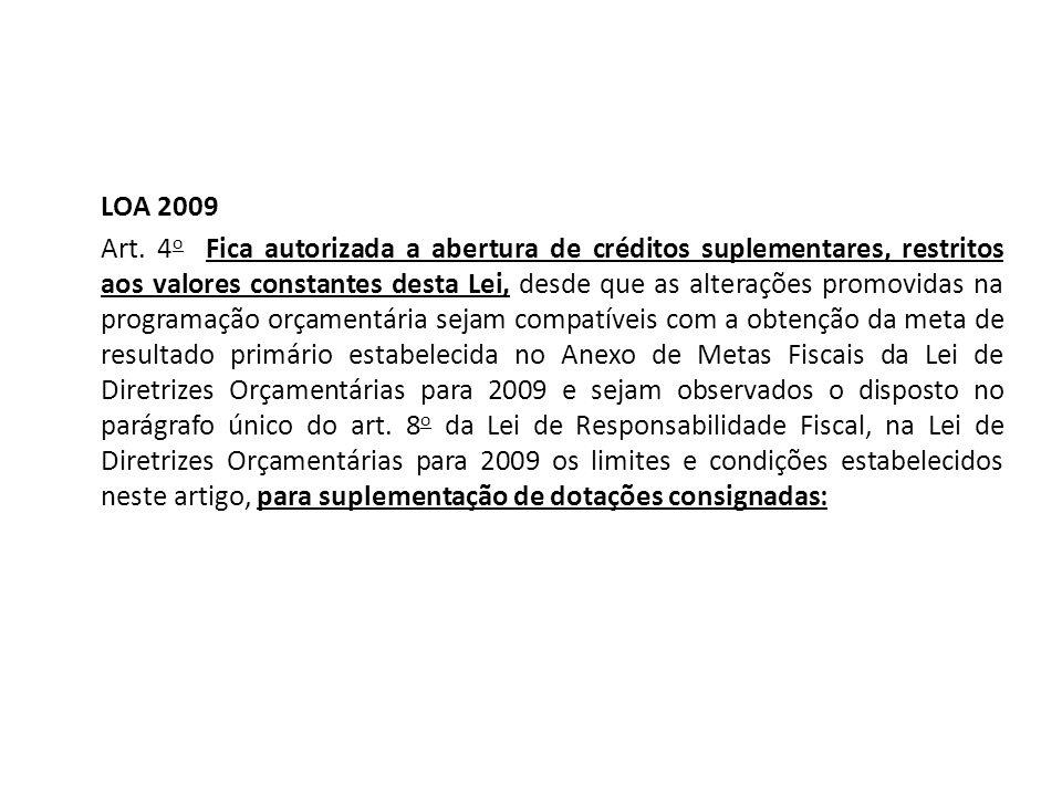 LOA 2009