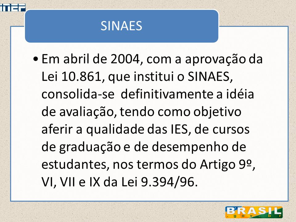SINAES
