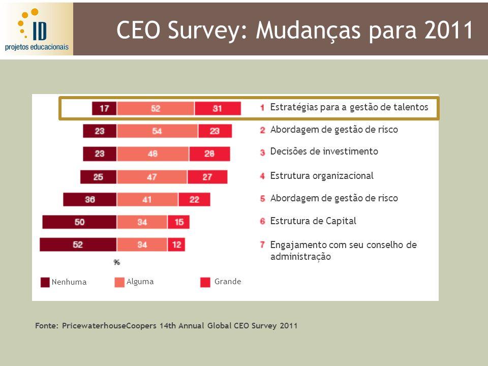 CEO Survey: Mudanças para 2011