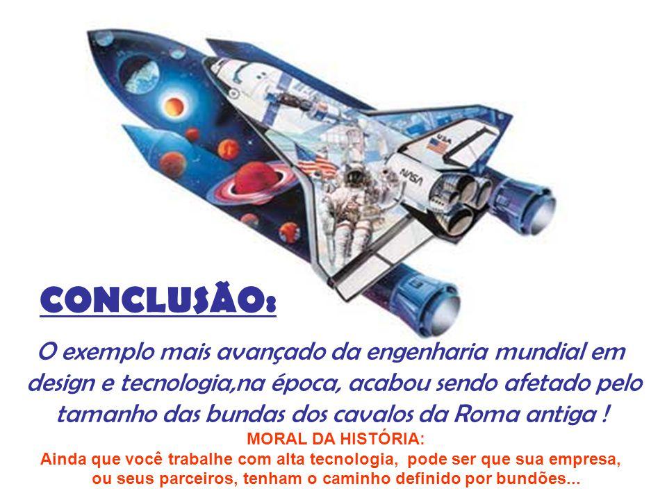 CONCLUSÃO: O exemplo mais avançado da engenharia mundial em