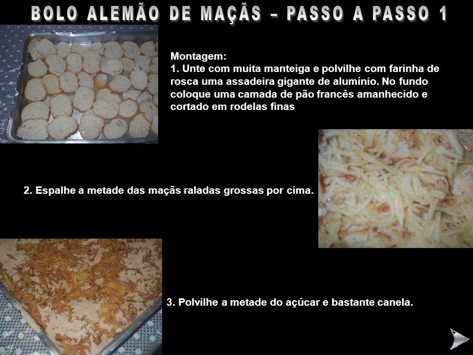 BOLO ALEMÃO DE MAÇÃS – PASSO A PASSO 1