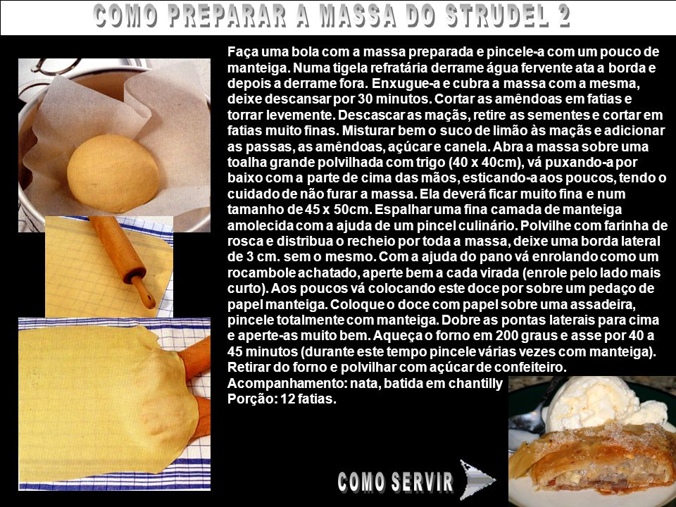 COMO PREPARAR A MASSA DO STRUDEL 2