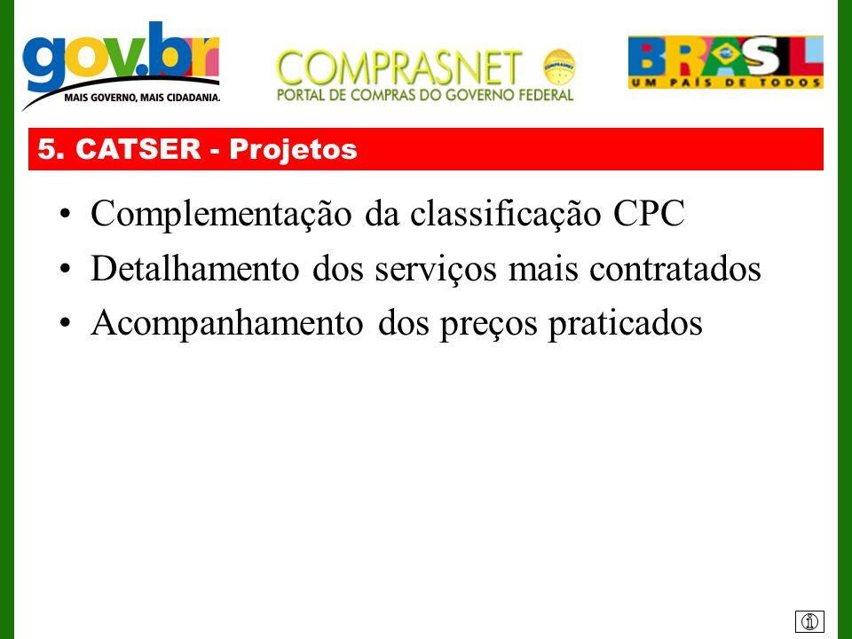 Complementação da classificação CPC