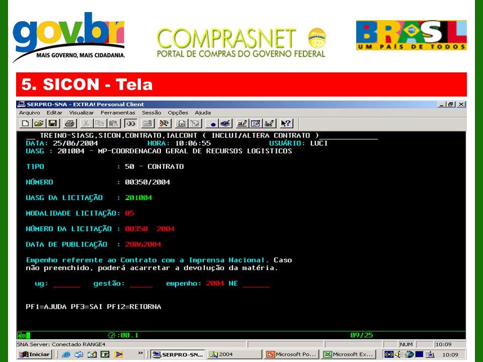 5. SICON - Tela