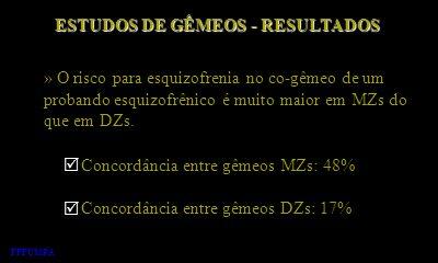 ESTUDOS DE GÊMEOS - RESULTADOS