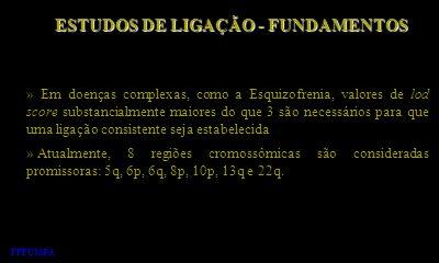 ESTUDOS DE LIGAÇÃO - FUNDAMENTOS