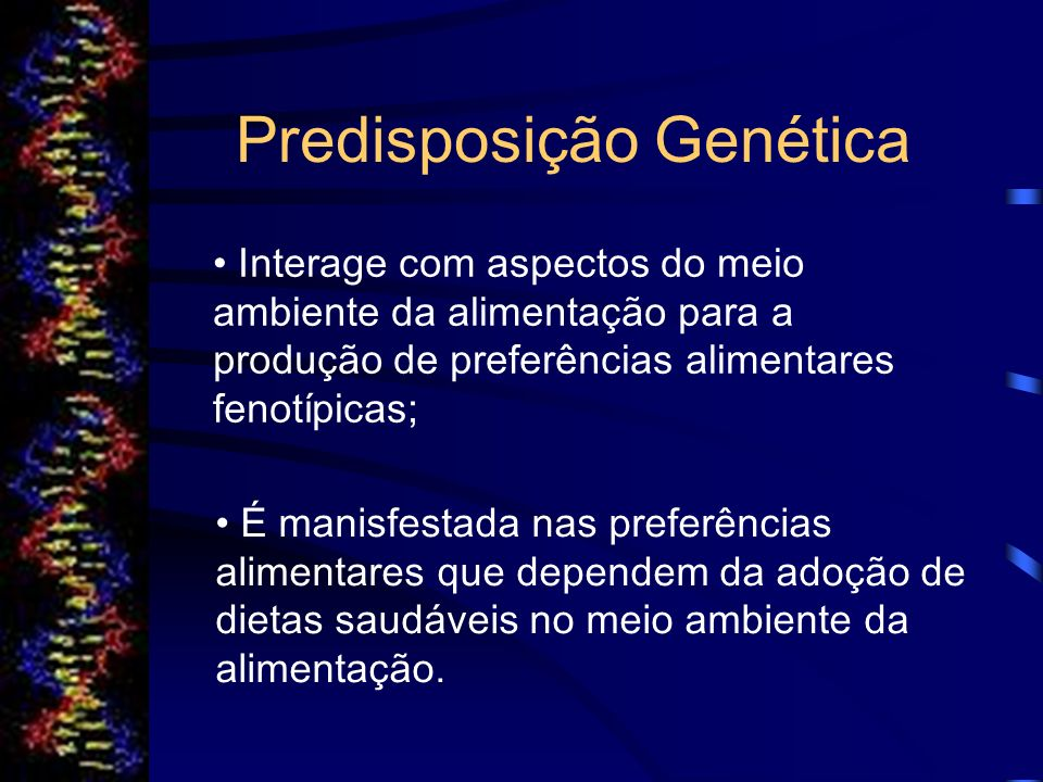 Predisposição Genética