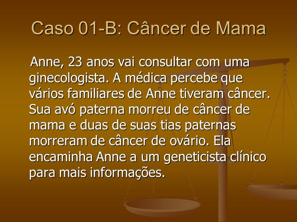 Caso 01-B: Câncer de Mama