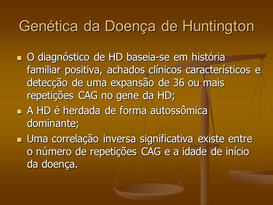 Genética da Doença de Huntington