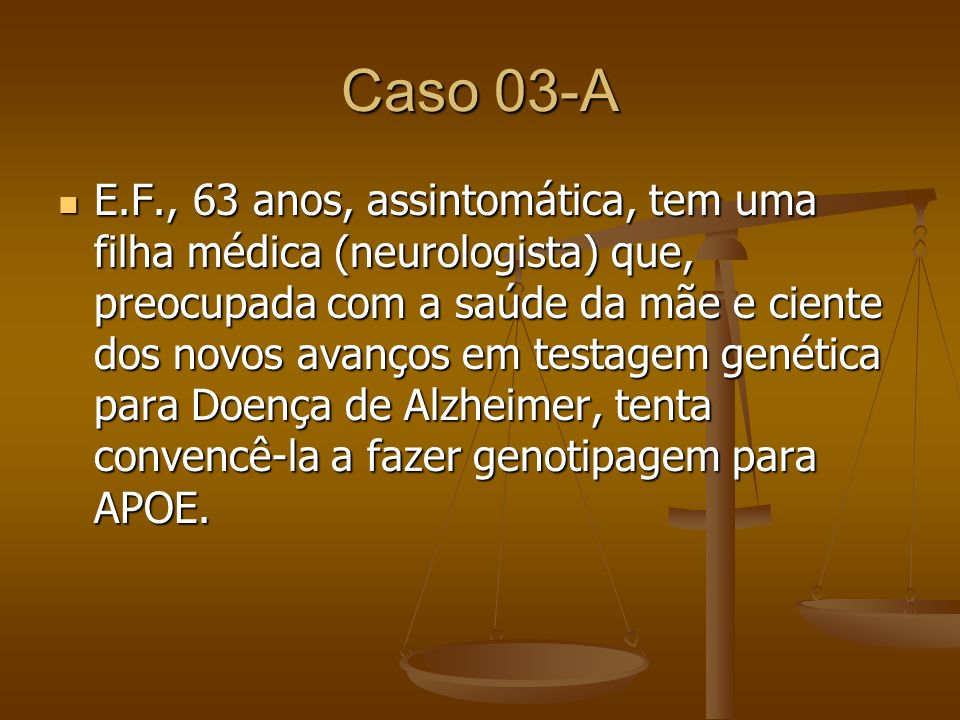 Caso 03-A