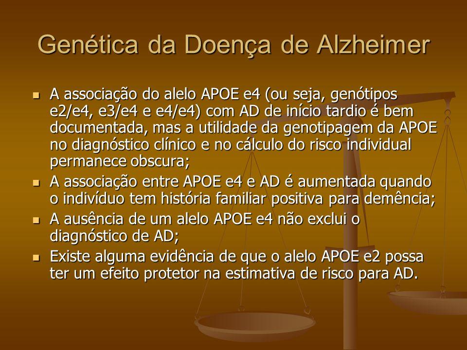 Genética da Doença de Alzheimer
