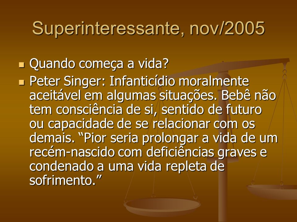 Superinteressante, nov/2005