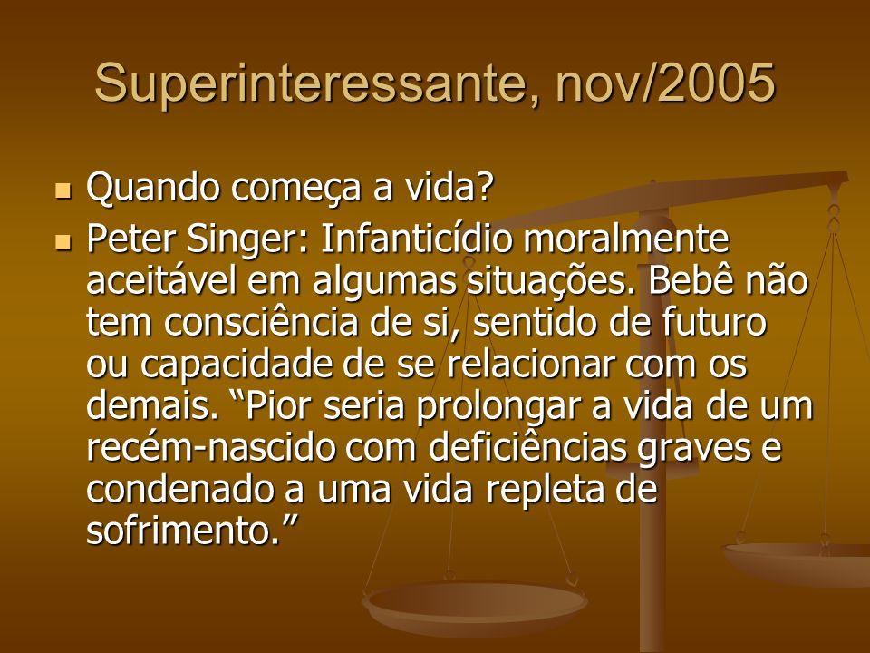 Superinteressante, nov/2005