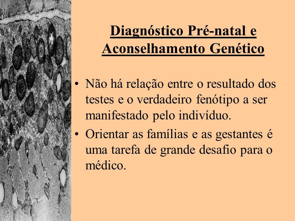 Diagnóstico Pré-natal e Aconselhamento Genético