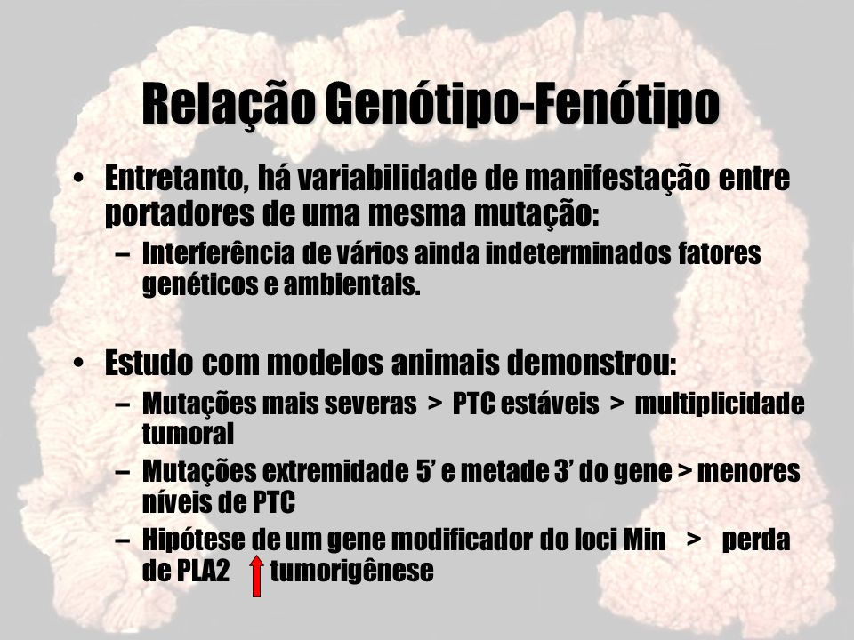 Relação Genótipo-Fenótipo