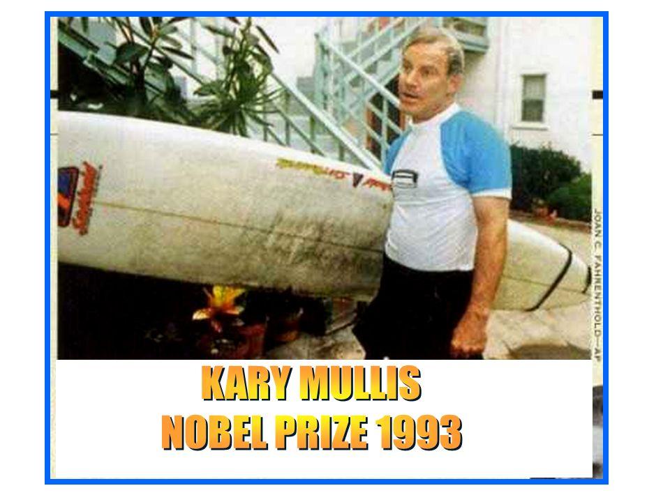 KARY MULLIS NOBEL PRIZE 1993