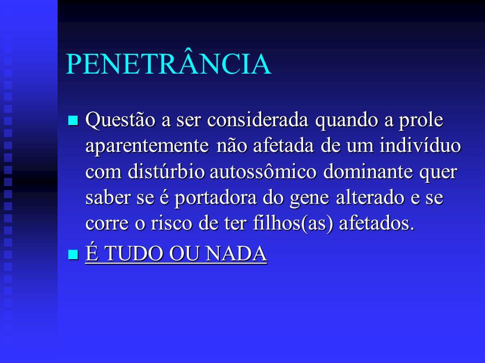 PENETRÂNCIA