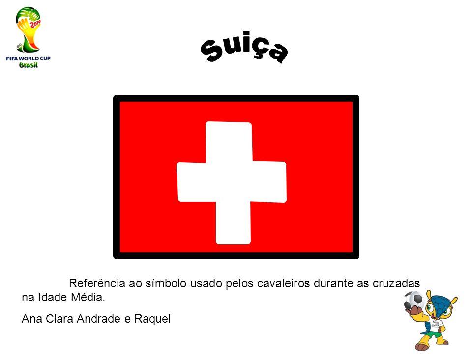 Suiça Referência ao símbolo usado pelos cavaleiros durante as cruzadas na Idade Média.