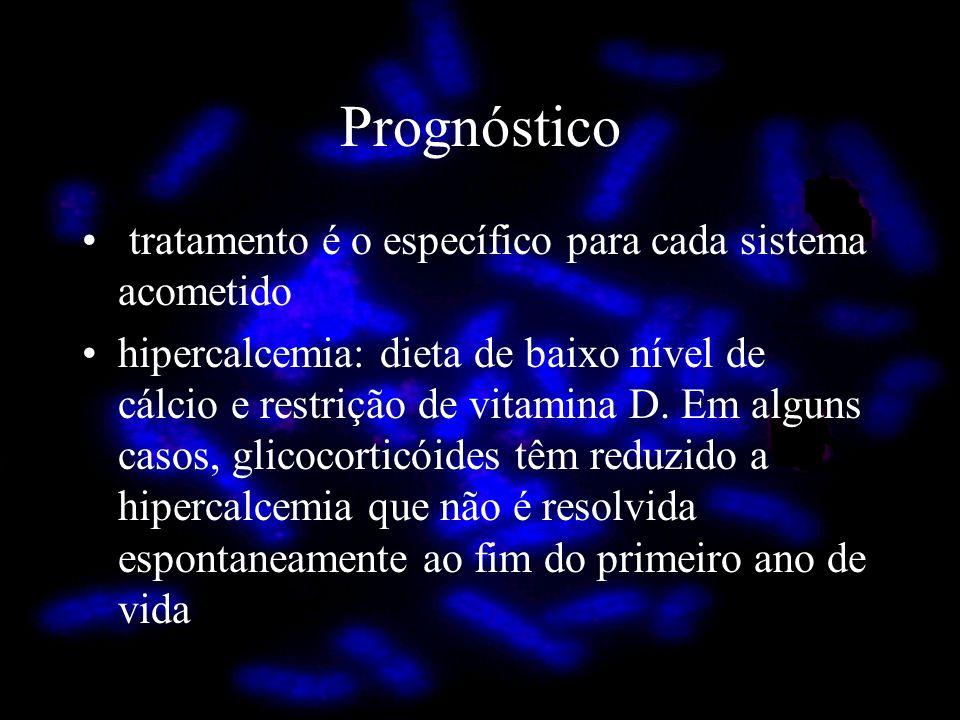 Prognóstico tratamento é o específico para cada sistema acometido
