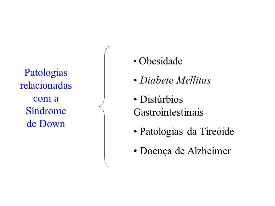 Patologias relacionadas com a Síndrome de Down