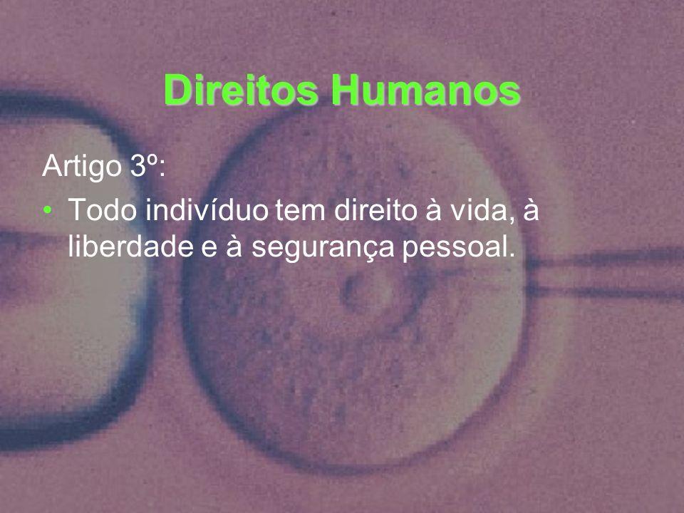 Direitos Humanos Artigo 3º: