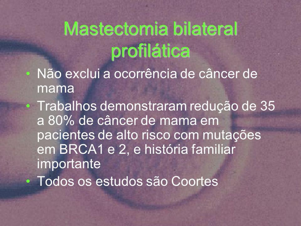 Mastectomia bilateral profilática