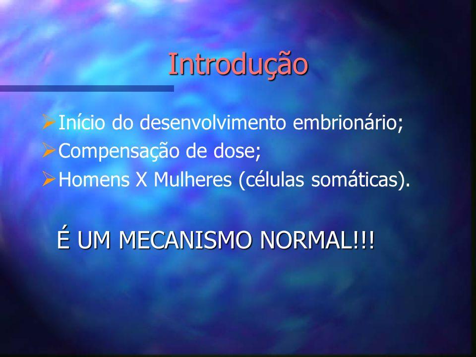 Introdução É UM MECANISMO NORMAL!!!