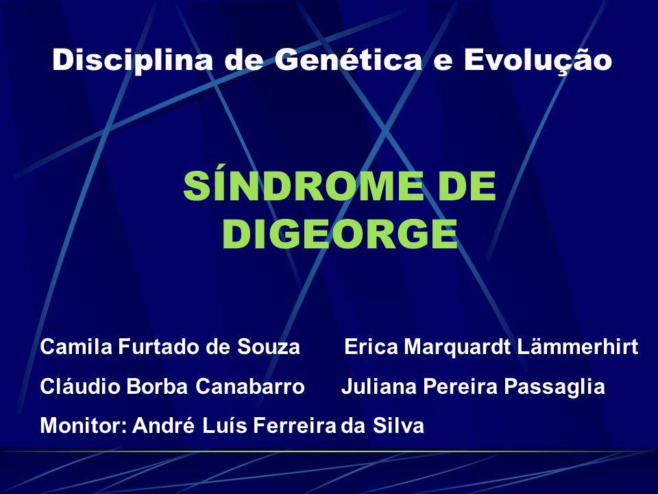 Disciplina de Genética e Evolução