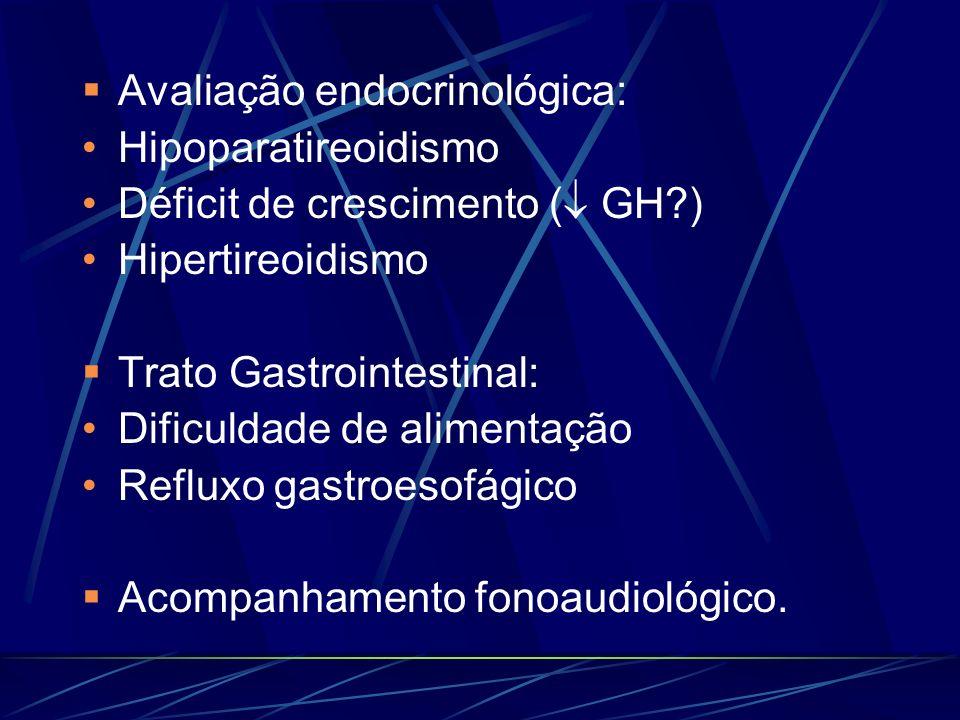 Avaliação endocrinológica:
