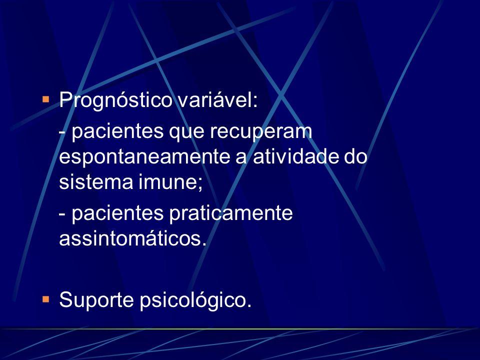 Prognóstico variável: