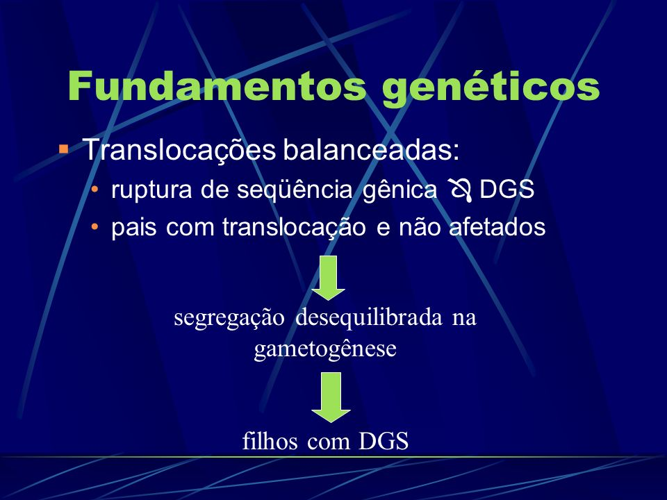 Fundamentos genéticos