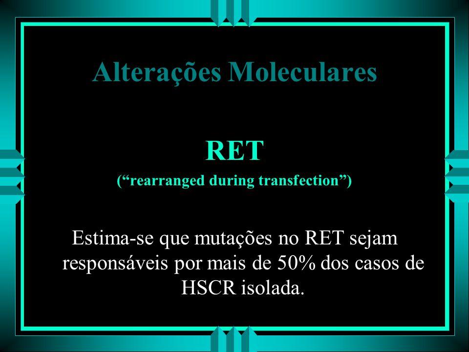 Alterações Moleculares