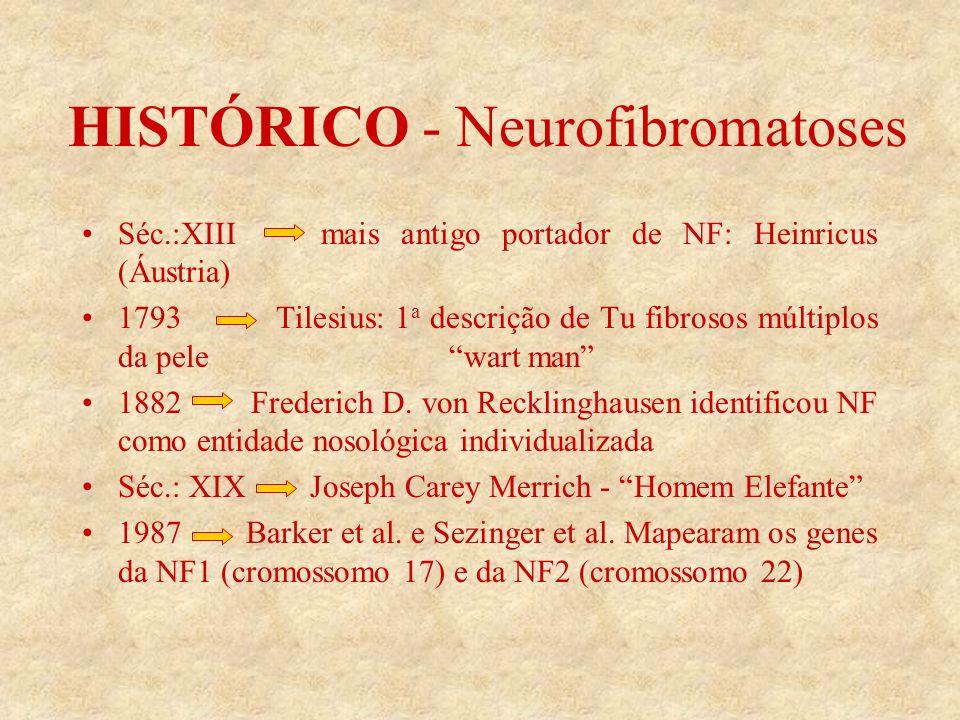 HISTÓRICO - Neurofibromatoses