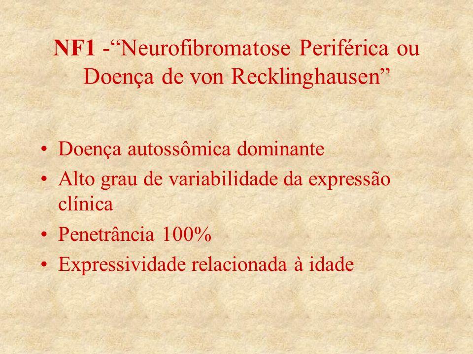 NF1 - Neurofibromatose Periférica ou Doença de von Recklinghausen