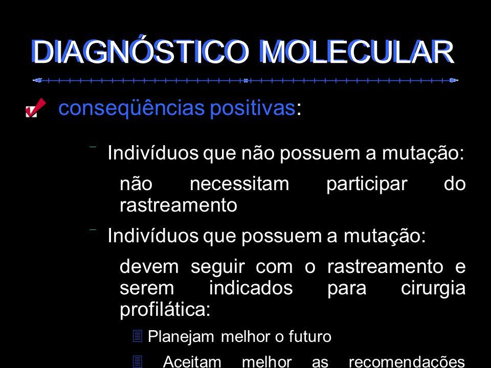 DIAGNÓSTICO MOLECULAR DIAGNÓSTICO MOLECULAR